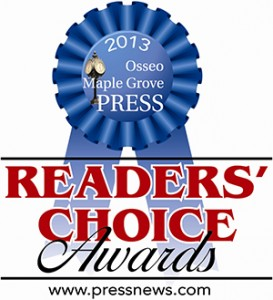 Readers chioce award