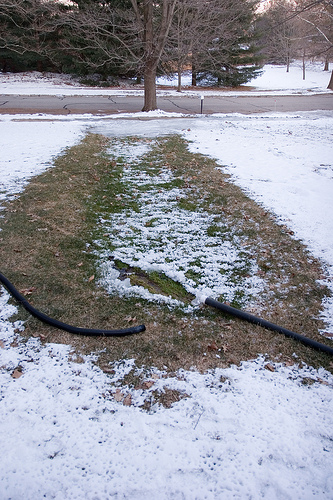 What to do for a frozen sump pump discharge line - LeVahn Brothers ...